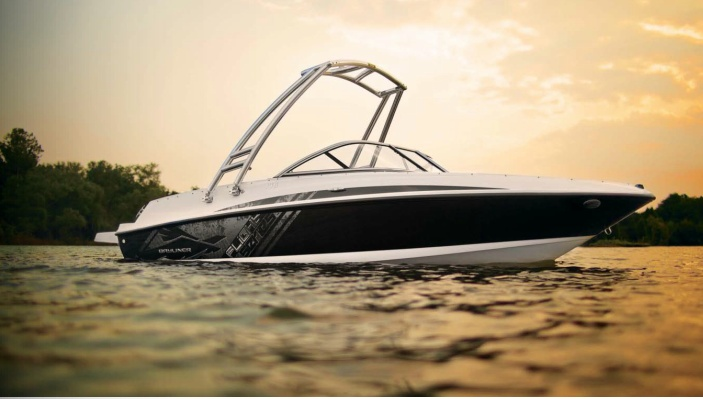"""""""We Won!"""" - Dave & Kathy Frost get reacquainted with their boating life after winning a 175 Bowrider at Bayliner 's All Aboard Demo Event. Read more here. #bayliner #boating"""