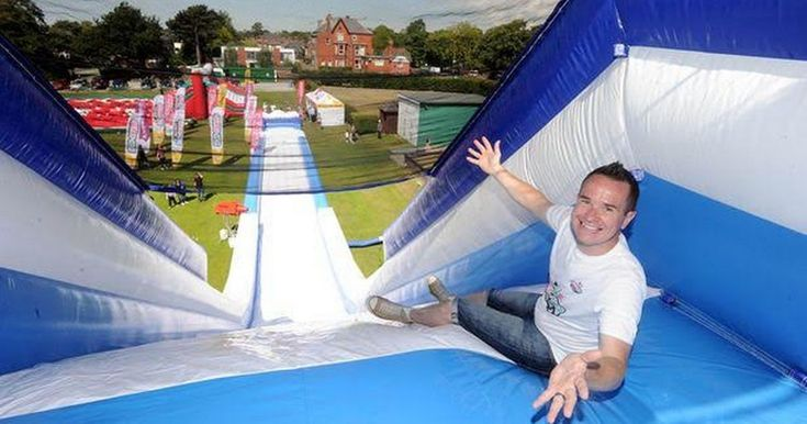 Course recalls It's A Knockout, Takeshi's Castle and Total Wipeout