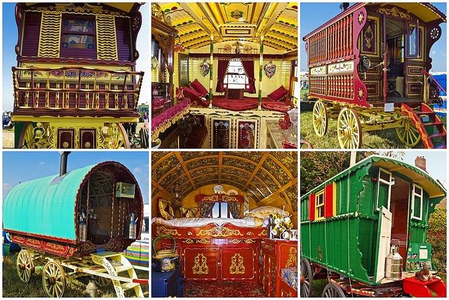 English Gypsy style Caravans  by Anguskirk