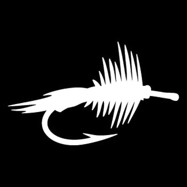 Best Fishing Decals Images On Pinterest Fishing Wildlife And - Cool custom vinyl decals for carsfish hook die cut vinyl decal pv projects pinterest fish