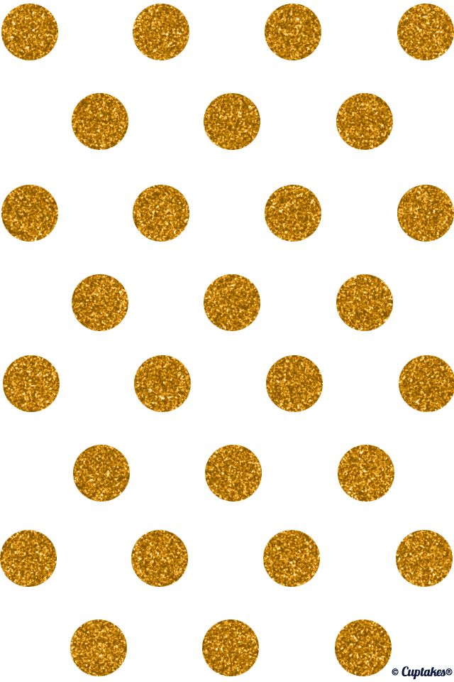 Glitter dots -different but classic