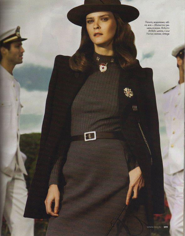 Съёмка: Кармен Касс для российского Elle. Изображение №8.