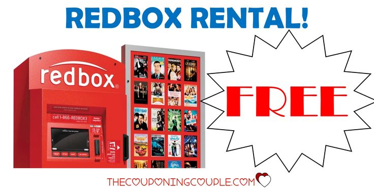 Are you ready for a MOVIE RENTAL from Redbox? Get up to 5 FREE DVD rentals or $1.50 off Blu-Ray Rentals! What a great night for a movie! SHARE THIS WITH YOUR FRIENDS!  Click the link below to get all of the details ► http://www.thecouponingcouple.com/free-redbox-dvd-movie-rental-code/  #Coupons #Couponing #CouponCommunity Visit us at http://www.thecouponingcouple.com for more great posts!