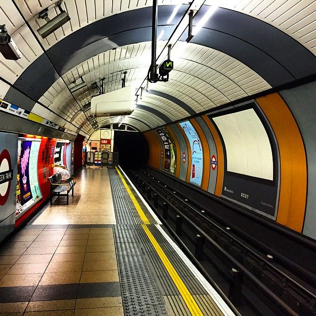 The Tube, London  Create a curved ceiling and have the kids listen from the platform