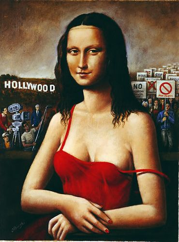 Mona LisaLisa Del, Monalisa Jokes, Figures Art, La Joconde, Mona Lisa, Olbinski 1945, Rafal Olbinski Sources, Lisa Does, Rafal Olbinskisourc