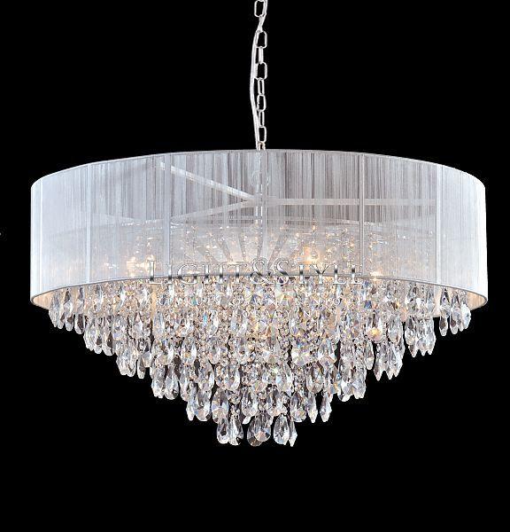 Cosmo Light Lampa wisząca SINGAPORE P09376WH - Sklep Light & Style