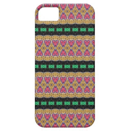 Colorful abstract pattern iPhone 5/5S covers