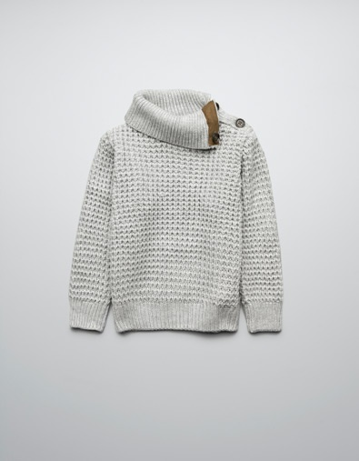 zara roll neck sweater for the boy.