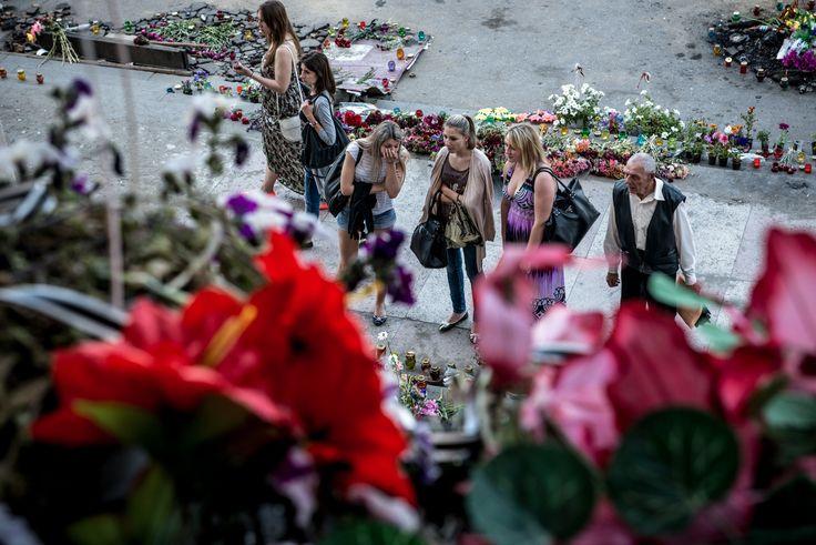 Il fotoreporter Andrea Chiarucci ha documentato il massacro di Odessa del 2 maggio 2014. In esclusiva per OFF alcune immagini del reportage.  credits Andrea Chiarucci