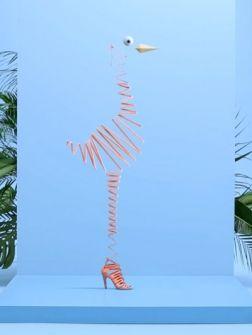 Voor de nieuwste zomercampagne Metamorphosis, an Hermès story knutselde het modehuis een wel heel leuk camp...