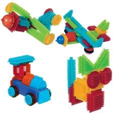 "Stickle Bricks-- I miss these! (Though I did not know that they were called ""stickle bricks"")"