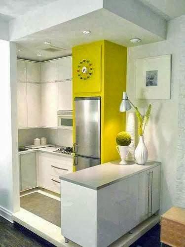 find this pin and more on ver cocinas en espacios pequeos