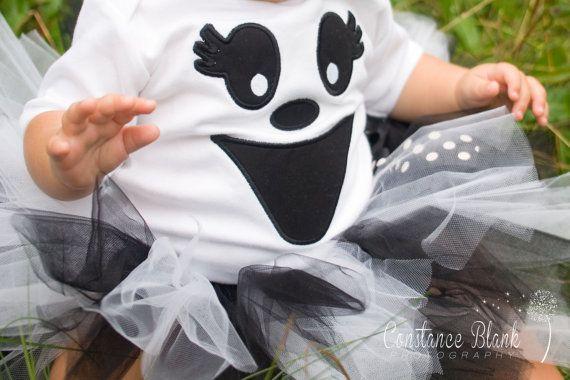 Greta the Ghost Tutu Halloween Costume by TickleMyTutu on Etsy