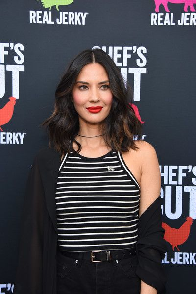 Olivia Munn Photos Photos - Olivia Munn hosts the Chef's Cut Real Jerky event for National Jerky Day on June 12, 2017 in Los Angeles, California. - Chef Up Event with Chef's Cut Real Jerky