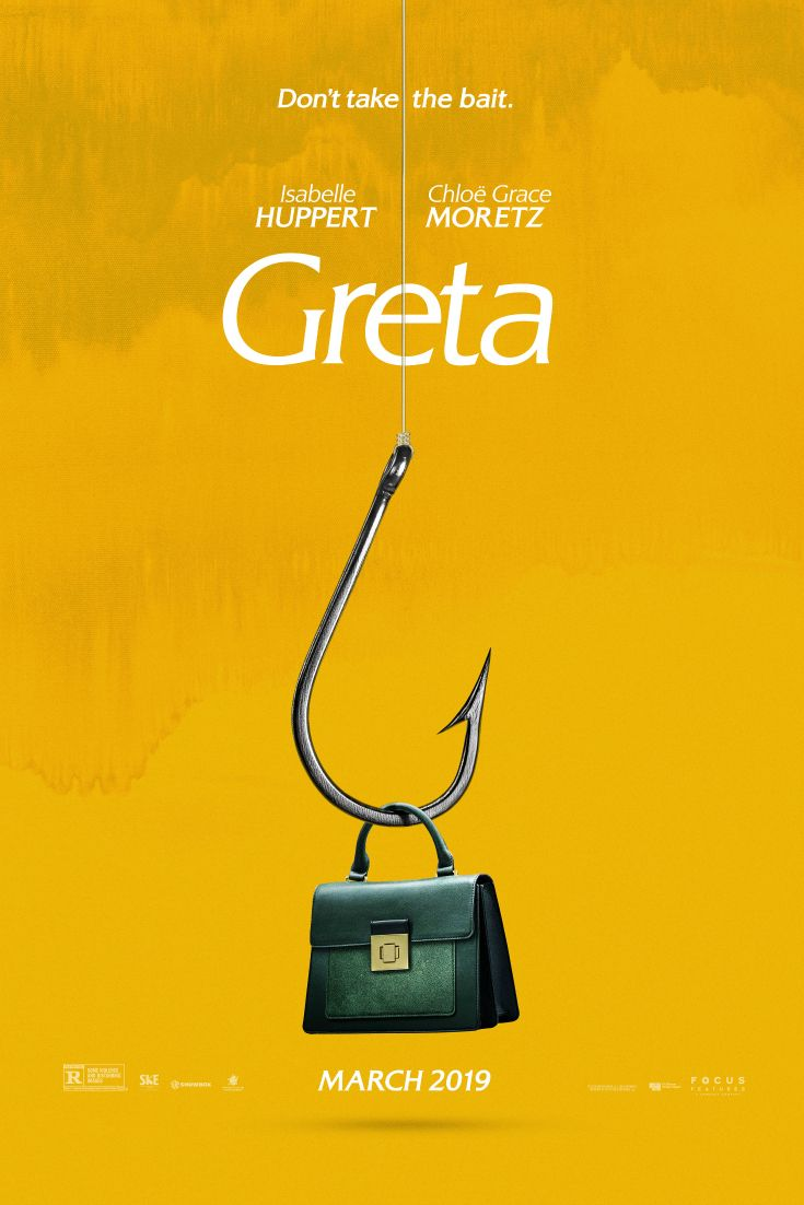 Image result for Greta movie poster 2019