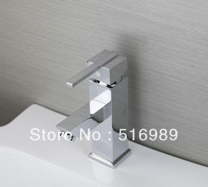 100% новый Медь на Одно отверстие одной Ручкой воды ванной бассейна кран балкон прачечная бассейн кран mak215