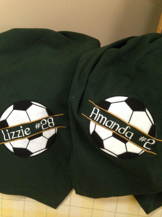 Monogrammed Soccer Stadium Blanket