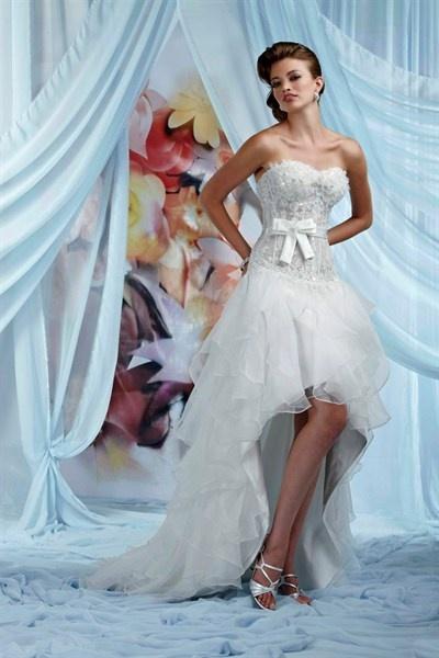 140 best Short Wedding Dresses images on Pinterest   Short wedding ...
