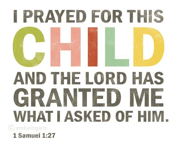 wall art for nursery: Answers Prayer, The Lord, Samuel 1 27, Nurseries, Quotes, Art Prints, Children, Baby Rooms, Bible Ver