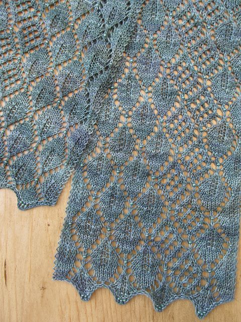 Ravelry: Madrona Lace Scarf pattern by Evelyn A. Clark