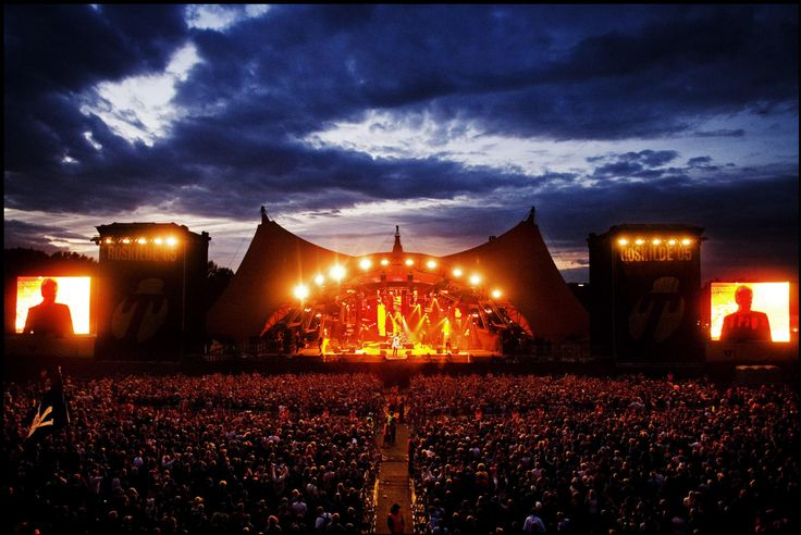 Roskilde Festival in Denmark - music, culture and nudey runs