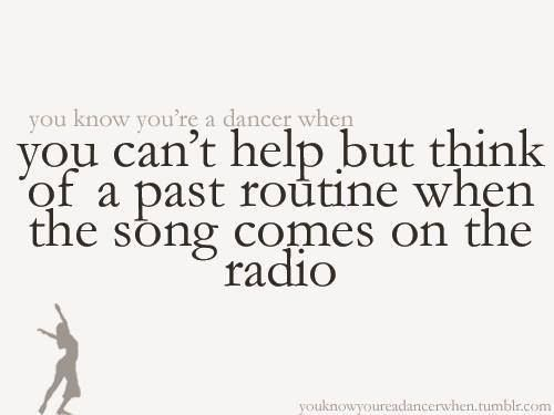 Yup... I literally annoy my dad when I start tapping my feet or hit him in the face when the song comes on