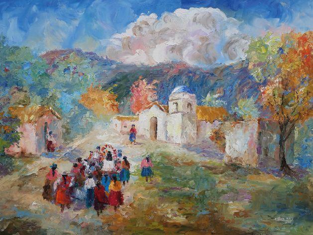Las pinturas de Revol Núñez estarán en la Casa de Salta