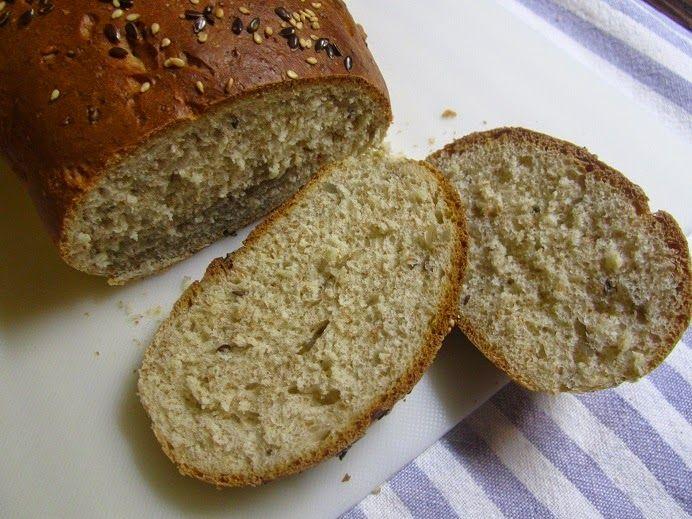 chlieb so slnečnicou