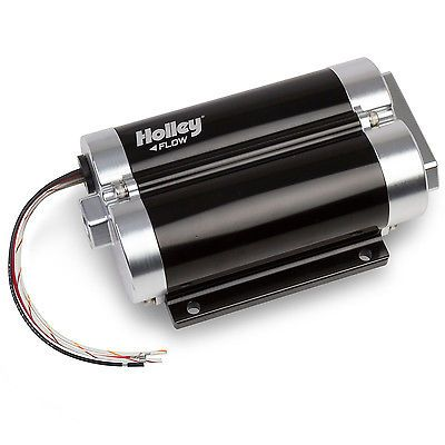 Holley 12-1200-2 Fuel Pump Dominator Billet Electric 80 psi 130 gph 20 amps Maxi