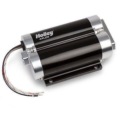 Holley 12-1200-2 Fuel Pump Dominator Billet Electric 80 psi 130 gph 20 amps Maxi