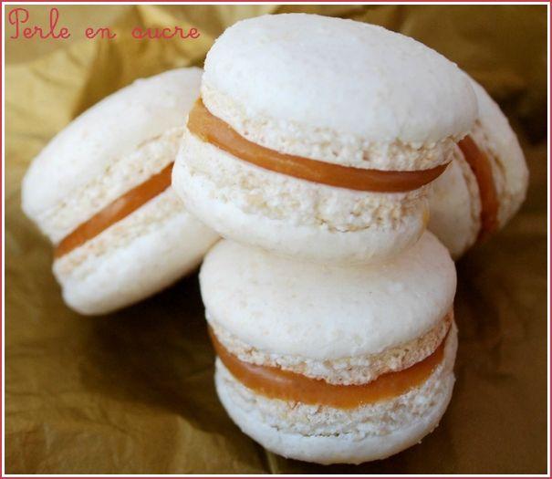 Macaron au caramel beurre salé de Christophe Felder