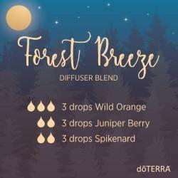 doTERRA Essential Oils Forest Breeze Diffuser Blend