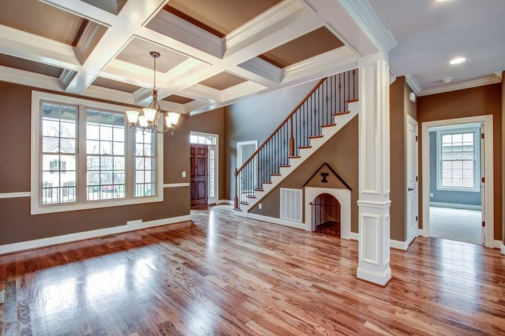gorgeous coffered ceiling paint color combo home decor