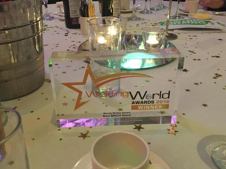 Welding World Awards - Best stand at Mach Exhibition 2016.