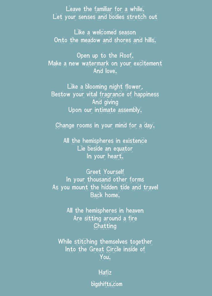 hafiz poem - photo #7