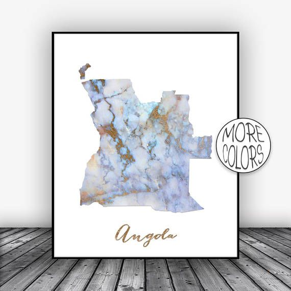Angola Print, Watercolor Print, Angola Map Print, Office Wall Decor, Office Wall Art, Living Room Art, Map Decor, Map Wall Art ArtPrintsZoe #MapWallArt #ArtPrint #AngolaPrint #MapDecor #OfficeWallDecor #AngolaMapPrint #LivingRoomArt #WatercolorPrint #OfficeWallArt #ArtPrintsZoe
