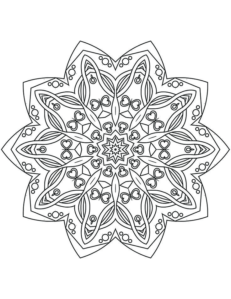 mandala coloring pages as therapy - photo#17