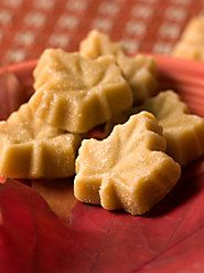 Our 100% Pure Vermont Maple Leaf Candy Has a Delicate, Sweet Taste...I would gladly go into sugar shock....