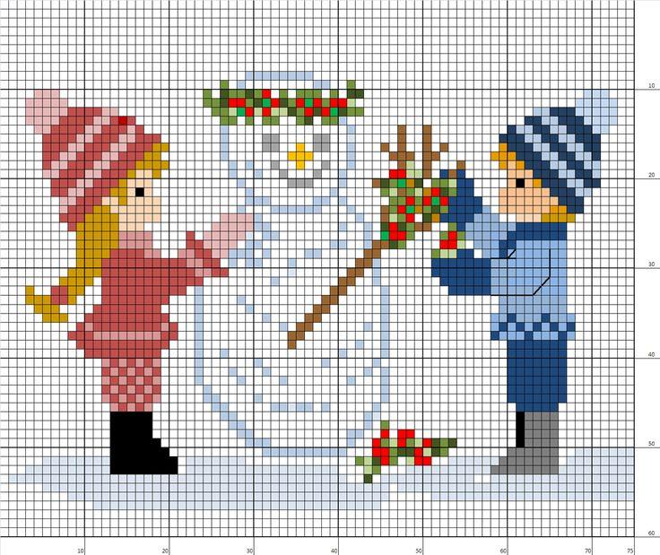 1000+ images about Enfant-child-point de croix-cross stitch on Pinterest | Stitches, Article ...