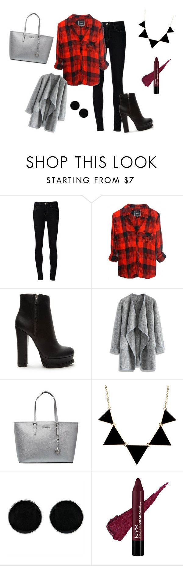 """Jesienny szyk"" by dagusia112 on Polyvore featuring moda, Ström, Forever 21, Chicwish, MICHAEL Michael Kors i AeraVida"