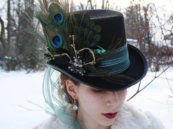 mad hatter top hat alice in wonderland top hat steampunk top hat mardi gras hat neo victorian top hat neo gothic top hat ready to ship ALICE op Etsy, 51,25€