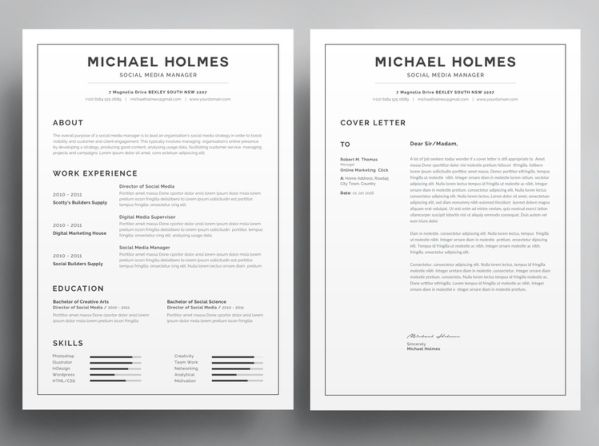 8 Best Resume Templates Optimized For Ats In 2020 In 2020 Best Resume Template Resume Words Resume Template Word