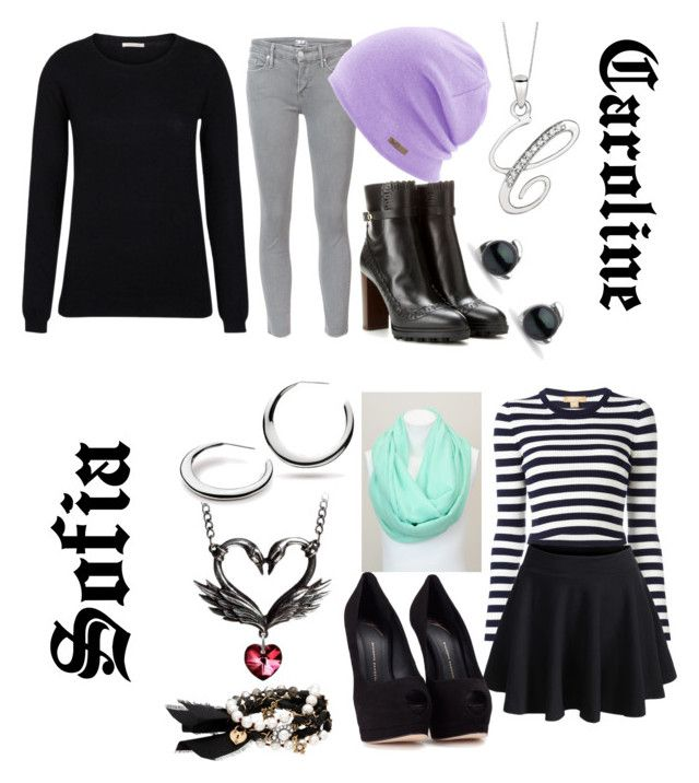 """Fallen In Time Outfit"" by geekyanddeath on Polyvore featuring Mother, Tod's, Michael Kors, Coal, Black Swan, WithChic, Giuseppe Zanotti, Chloe + Isabel and Kit Heath"