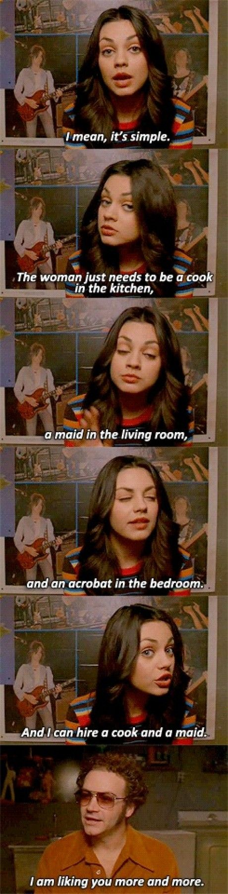 That 70's show had some pretty great moments. This is ABSOLUTELY my favorite t.v show!!!!