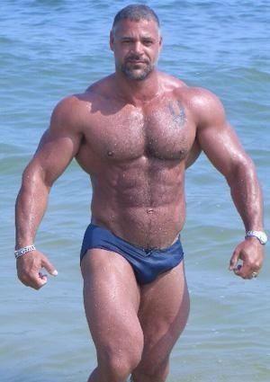 image Bodybuilder gay hot sexy group fucking