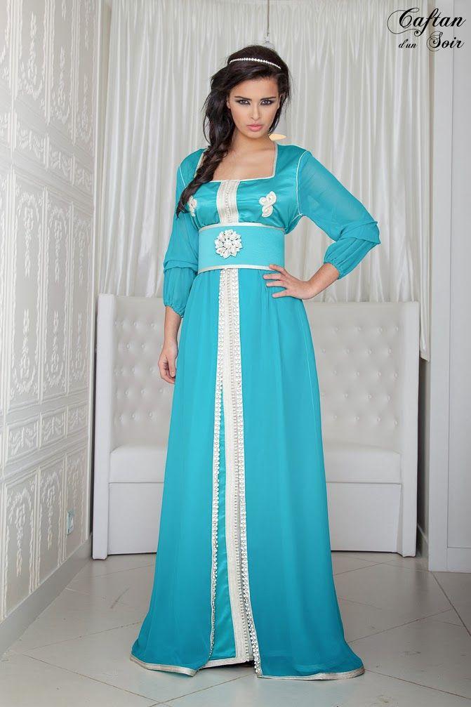 http://www.caftan-boutique.net/couture-caftan-marocain-turquoise/ Couture caftan marocain turquoise