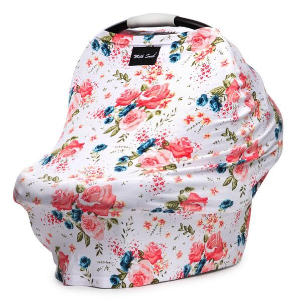 The Milk Snob® Cover is the original fitted infant car seat cover that can also be used as a nursing cover. Use as an infant car seat cover or nursing cover.