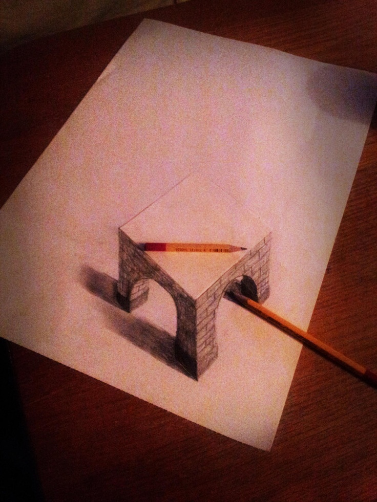 Ramon Bruin's 3D Drawings Jump Off The Page (PHOTOS)##