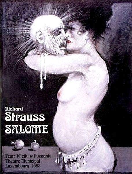 Salome Salome Starowieyski Franciszek Polish Poster