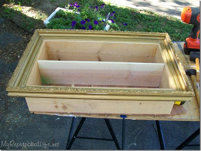 How to make a wood box frame woodworking projects plans for Wooden box tutorial